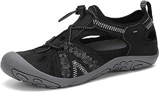 أحذية رياضية للسيدات من SAGUARO بمقدمة مغلقة تسمح بالتهوية في الهواء الطلق الصيف