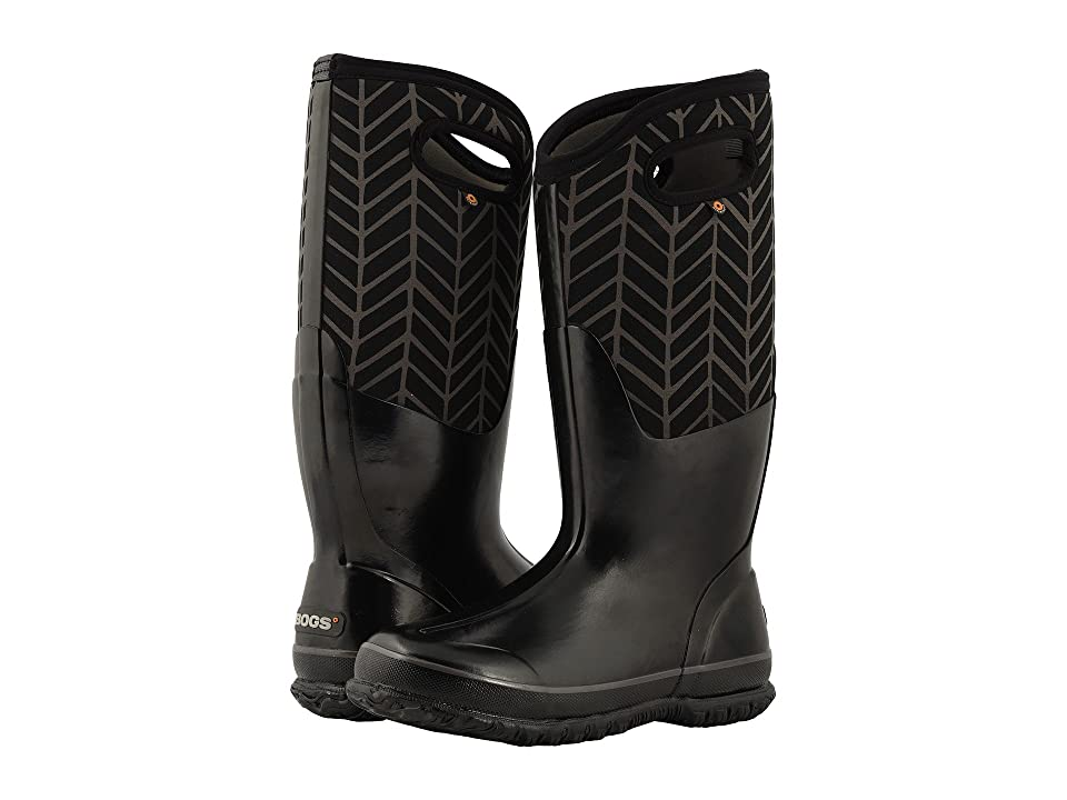 Bogs Classic Tall Badge (Black Multi) Women
