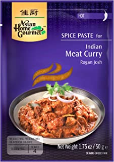 Asian Home Gourmet: Indian Meat Curry 1.75 oz (Pack of 12)