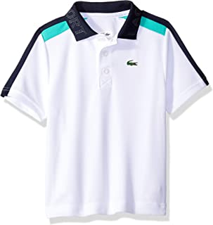 Lacoste Boy Sport Short Sleeve Color Block Tennis Polo