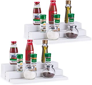 3 step shelf organizer
