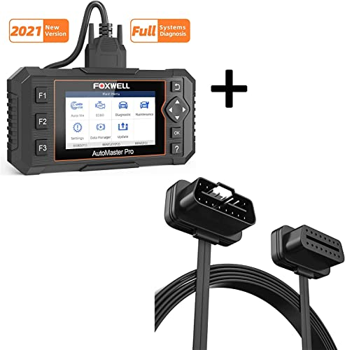 high quality FOXWELL sale NT624 All System Scanner and Foxwell OBD2 Extension Cable sale 16 pin sale
