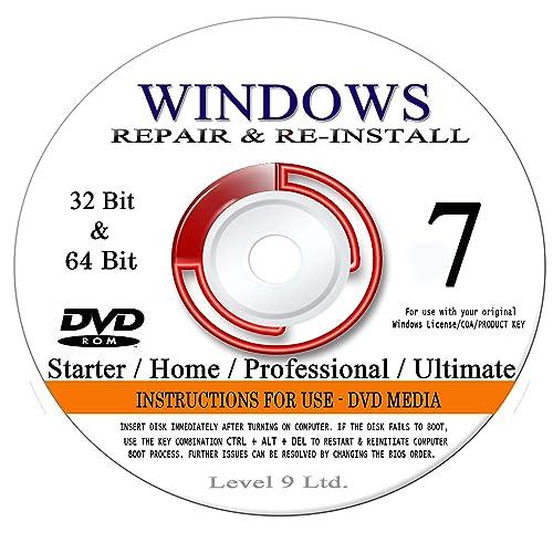 windows 7 home disc