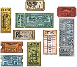 Sizzix, Multi Color, Thinlits Die Set , Ticket Booth by Tim Holtz, 6 Pack, One Size