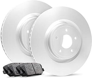 For 2003-2014 Toyota 4Runner, FJ Cruiser Front OE Blank Brake Rotors+ Pads
