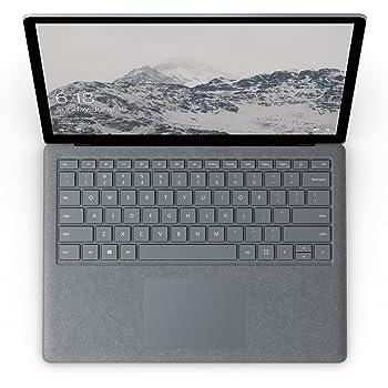 Microsoft Surface Laptop Intel Core i5 7th Gen 8GB RAM 256GB SSD Win 10 Platinum (Renewed)