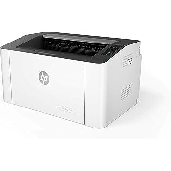 HP Laser 107w Stampante Laser Monocromatica, Scansione tramite HP Smart App, con Funzionalitàdi Sicurezza Dinamica, Wi-Fi, Wi-Fi Direct, Bianca