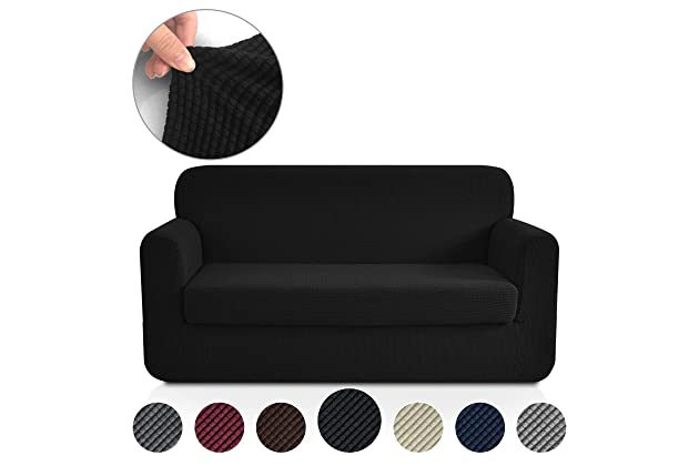 Best black slip covers for couch | Amazon.com