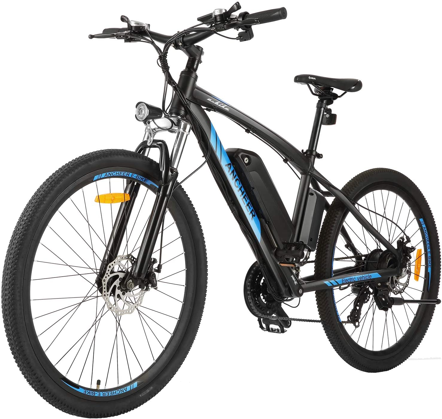ANCHEER 350 500W Electric Bike B Opening large release sale 27.5'' Award-winning store Commuter Adults