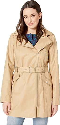 Asymmetric Belted Trench M724007M