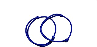 blue friendship bracelet
