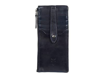 Frye Melissa Snap Card Wallet (Ocean) Handbags