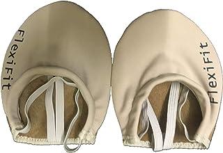 Flexifit Rhythmic Gymnastics Toe Shoe Leather Beige Color for Practice/Competition
