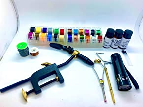 Furnoor Manual Angelhaken Tier Line Bindewerkzeug mit Unterleine Doppelhaken Fast Knot Tyer Tools Langlebig