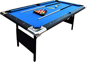 foldable 6ft pool table