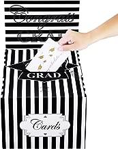 Cualfec Graduation Card Box Durable Graduation Greeting Card Holder 12