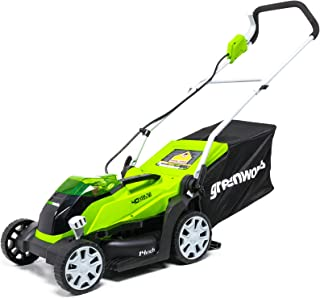 GreenWorks MO40B00 MO40L410 Lawn Mower, 14 inch