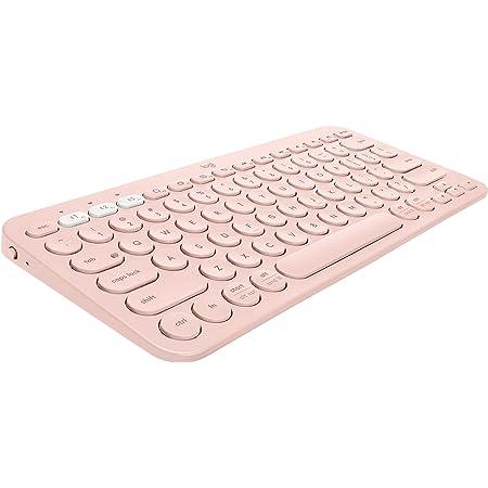 Amazon Com Logitech K380 Multi Device Wireless Bluetooth Keyboard Rose Computers Accessories