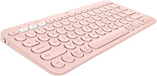 Logitech K380 Multi-Device Wireless Bluetooth Keyboard for Mac - Rose