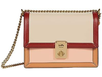 COACH Color-Block Hutton Shoulder Bag
