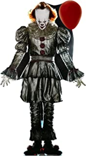 Advanced Graphics Pennywise with Balloon Life Size Cardboard Cutout Standup - IT Chapter 2 (2019 Film)