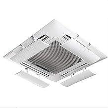 Intrekbare centrale airconditioningdeflector,kantoor Plafond windscherm Anti-rechte klap Airco winddeflector,Met filterkat...
