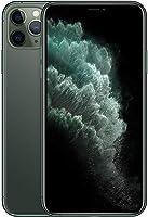 ابل ايفون 11 برو ماكس مع تطبيق فيس تايم - 256 جيجا، رام 4 جيجا، الجيل الرابع ال تي اي، اخضر داكن، شريحة واحدة و شريحة...