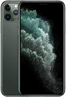 Apple iPhone 11 Pro Max with Facetime - 64GB, 4G LTE, Midnight Green - International Version