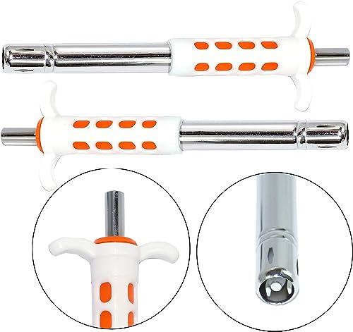 NISUN Easy Grip Stainless Steel Regular Gas Lighter For Kitchen Stove Pack Of 2