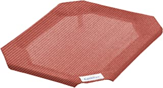 Coolaroo Replacement Cover, The Original Elevated Pet Bed by Coolaroo, Small, Terracotta