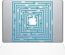 """The Decal Guru Maze Runner Macbook Decal Vinyl Sticker  - 15"""" Macbook Pro (2016 & newer) - Light Blue (1288-MAC-15X-LB)"""