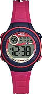 Kids Digital Watch - 11 Year Old Girl Gifts - Girls Watches Ages 11-15 - Gifts for Preteen Girls - Kids Sports Watch - Girls Digital Watch - Kids Silicone Watch - Kids Fila Watch - Pink Watch