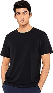 CRZ YOGA Men's Lightweight Pima Cotton Workout Shirts Athletic T-Shirt Quick Dry Short Sleeve Shirt