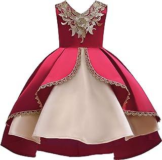فستان Tsyllyp للفتيات مهرجانات الزهور فساتين مطرزة لحفلات الزفاف توتو