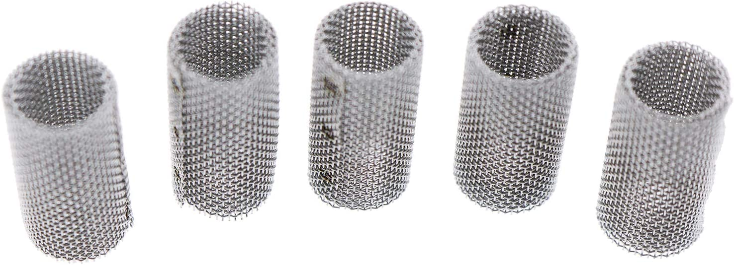 ZTUOAUMA 5X Max 40% OFF Stainless Ranking TOP6 Steel Glow Burner Strainer Pin Plug Filter