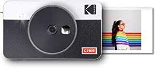 Kodak Mini Shot 2 Retro Portable Wireless Instant Camera & Photo Printer, Compatible with iOS & Android and Bluetooth Devi...