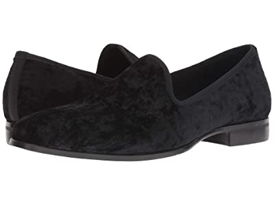 Stacy Adams Sultan Velour Loafer (Black) Men