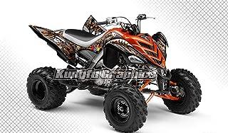 Kungfu Graphics Custom Decal Kit for Yamaha ATV Raptor 700 2006 2007 2008 2009 2010 2011 2012,Shark Style
