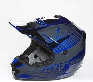 53-59 CM LWA Casco Motocross Ni/ño ECE Homologado Casco de Moto Infantil Cross Integral para Mujer Hombre Adultos,S-XL