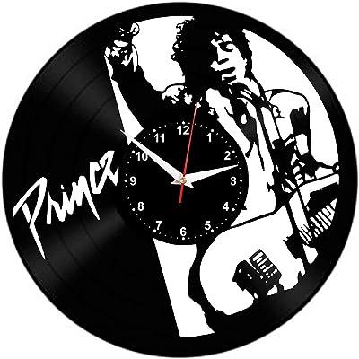 KAZSCM Reloj de Pared Vinilo Disco Vinilo reloj12 Pulgadas ...