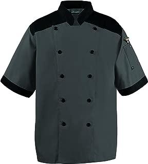Happy Chef Top Vent Lightweight Chef Coat