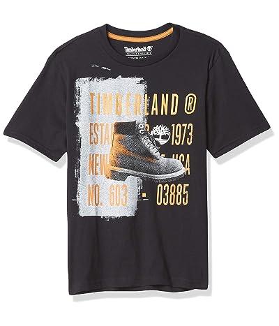 Timberland Short Sleeve Crew Neck Boot Logo T-shirt