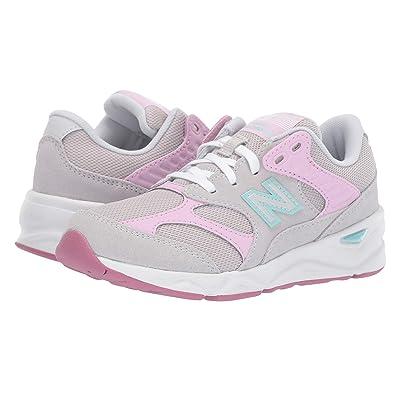 New Balance Kids GSX90Rv1 (Little Kid) (Summer Fog/Crystal Rose) Girls Shoes
