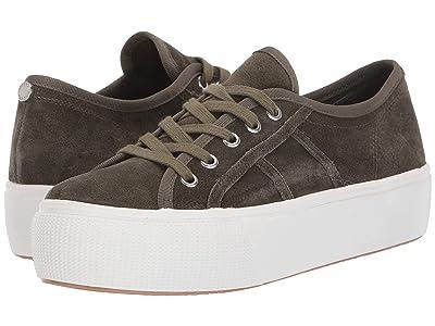 Steve Madden Emmi S Sneaker (Olive Suede) Women