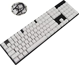 CuXiu 104Key PBT Keycaps Double Shot Keycaps,ANSI OEM Profile Mechanical Gaming Keyboard Keycap,Key Set with Keycaps Pulle...