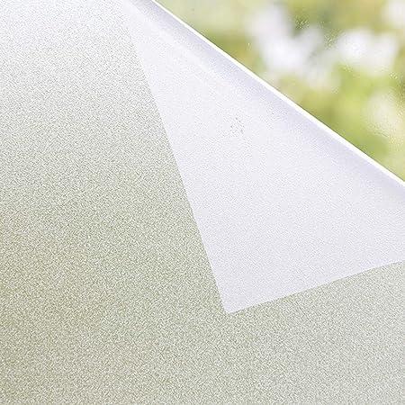 窓用フィルム 90×200CM(×2枚)艶消し白い砂柄 断熱 遮熱 UVカット 接着剤必要なし 遮光 水で貼る 貼り直し可能 日本語説明書付き 半透明 窓 めかくしシート すりガラス調 目隠しシート外から見えない Shackcom