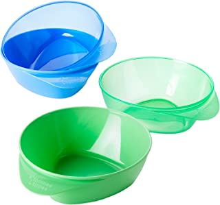 Tommee Tippee Easy Scoop Feeding Bowls, 4 Count (Colors Will Vary)