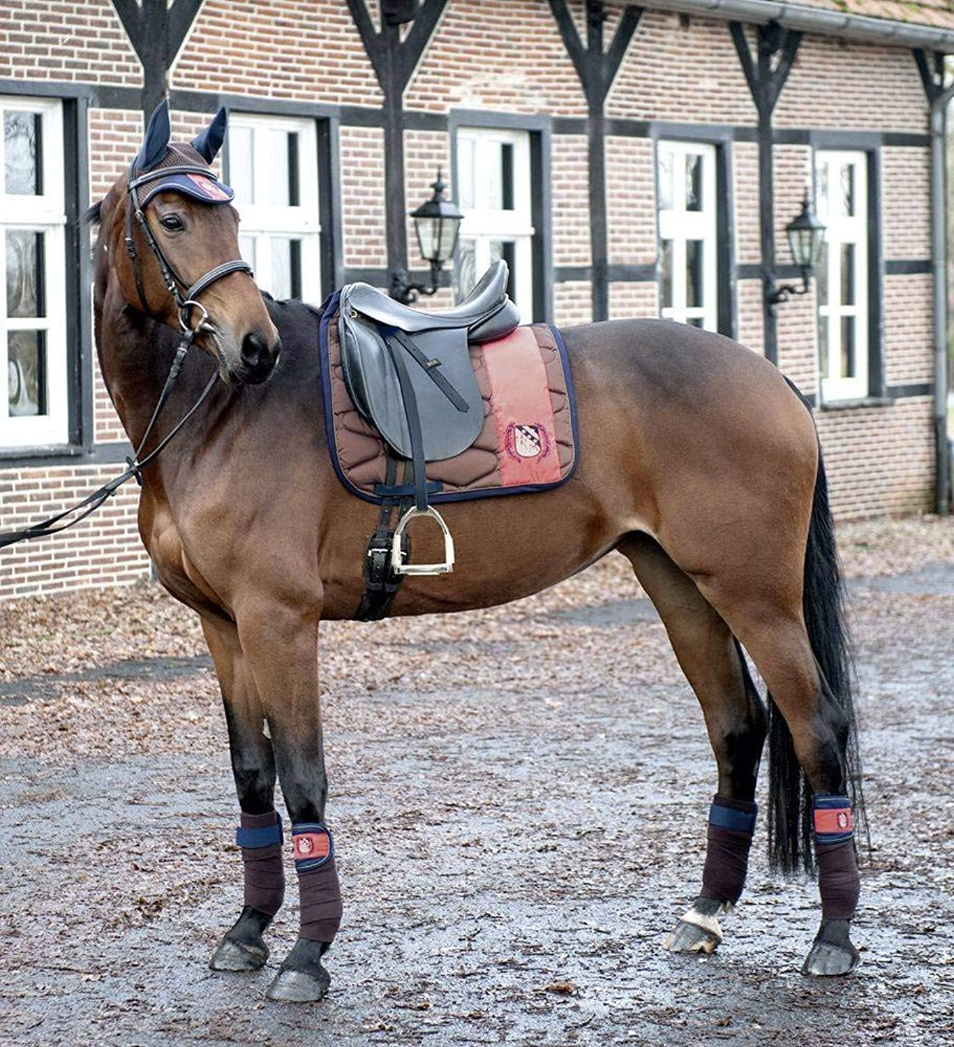 Hkm SADDLE PAD Exclusive Crown