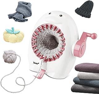 Machine à tricoter, Machine à tisser à tricoter 22 aiguilles avec compteur de rangées, métier à tisser rond intelligent po...