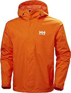Helly Hansen Seven J Waterproof Windproof Breathable Rain Coat Jacket